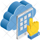 Cloud Computing Apps Icon