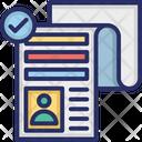 Applicant Employee Selection Hiring Icon