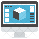 Application Computer Design Icon
