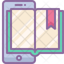 Application Book Mobile Icon