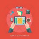 Application Program Concept Icon