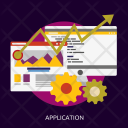 Application Seo Development Icon