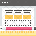 Application Layout Development Icon