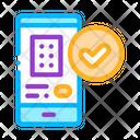Smartphone Application Phone Icon