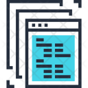 Application Code Coding Icon
