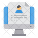 Application Online Resume Icon