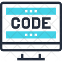 Application Code Coding Icon