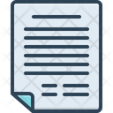 Application Document Letter Icon