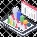Application Analytics Vector Icon