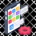 Application Development Mobile App Development Mobile Interface Design Icon