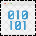App Window Code Icon