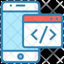 Code Iphone Device Icon