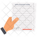 Application Form Icon