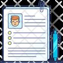Application Form Admission Form Registration Form Icon
