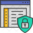 Application Security Browser Protection Browser Security Icon