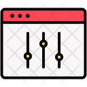 Application Configuration Page Optimizations Icon