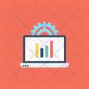 Application Statistic Monitoring Icon