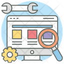 Web Testing Usability Testing Application Testing Icon