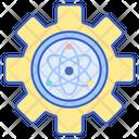 Applied Physics Atom Physics Icon