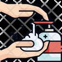Wash Hands Hands Hygiene Icon