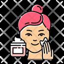 Applying Cream Icon