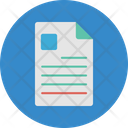 Applying For Job Curriculum Vitae Personal Information Icon