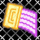 Applying Moisture Barrier Icon