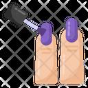 Applying Nailplish Icon