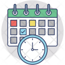 Appointment Schedule Meeting Icon