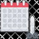 Calendar Haircut Date Icon