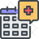 Calendar Appointment Healthcare Icon