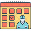 Doctor Visit Day Reminder Schedule Icon