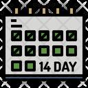 Appointment Calendar Coronavirus Icon