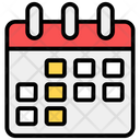 Appointment Timetable Calendar Icon