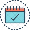 Appointment Calendar Day Icon