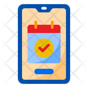 Appointment Event Smartphone Icon