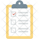 Appointment Checklist List Icon