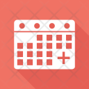 Appointment Calendar Medical Icon