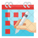 Calendar Booking Time Event Date Icon