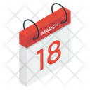 Appointment Date Calendar Icon