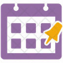 Appointment Schedule Date Calendar Icon