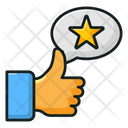 Feedback Thumbs Up Appreciation Icon