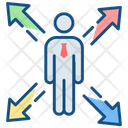 Approach Destination Objective Icon