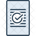 Approval Correct Marked Icon