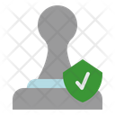 Approval Stamp Check Icon