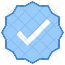 Approval Award Badge Icon