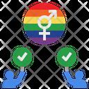 Respect Rights Lgbtq Icon