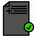 Mail Post Approve Icon