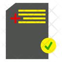 Mail Post Approved Icon
