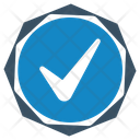 Approved Label Mark Icon